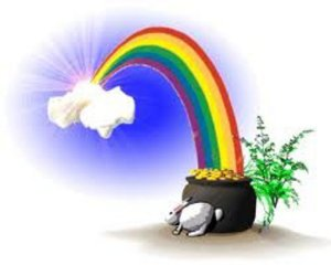 end of rainbow (colour)